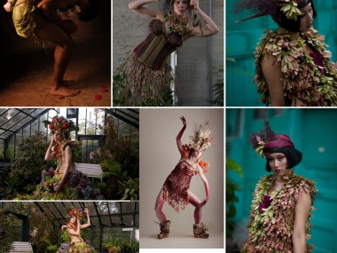Nicole Dextras – Little Green Dress Projekt – couture nature écologique et durable –