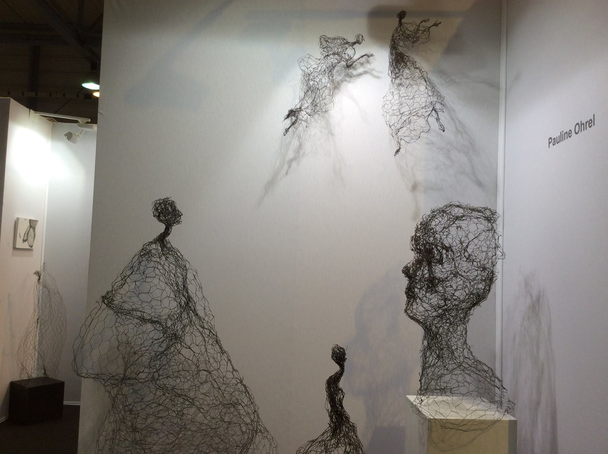 Pauline Ohrel Sculptor – wire sculptures