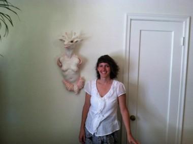 Rebekah Bogard – portrait sculpture of Clayton Keyes