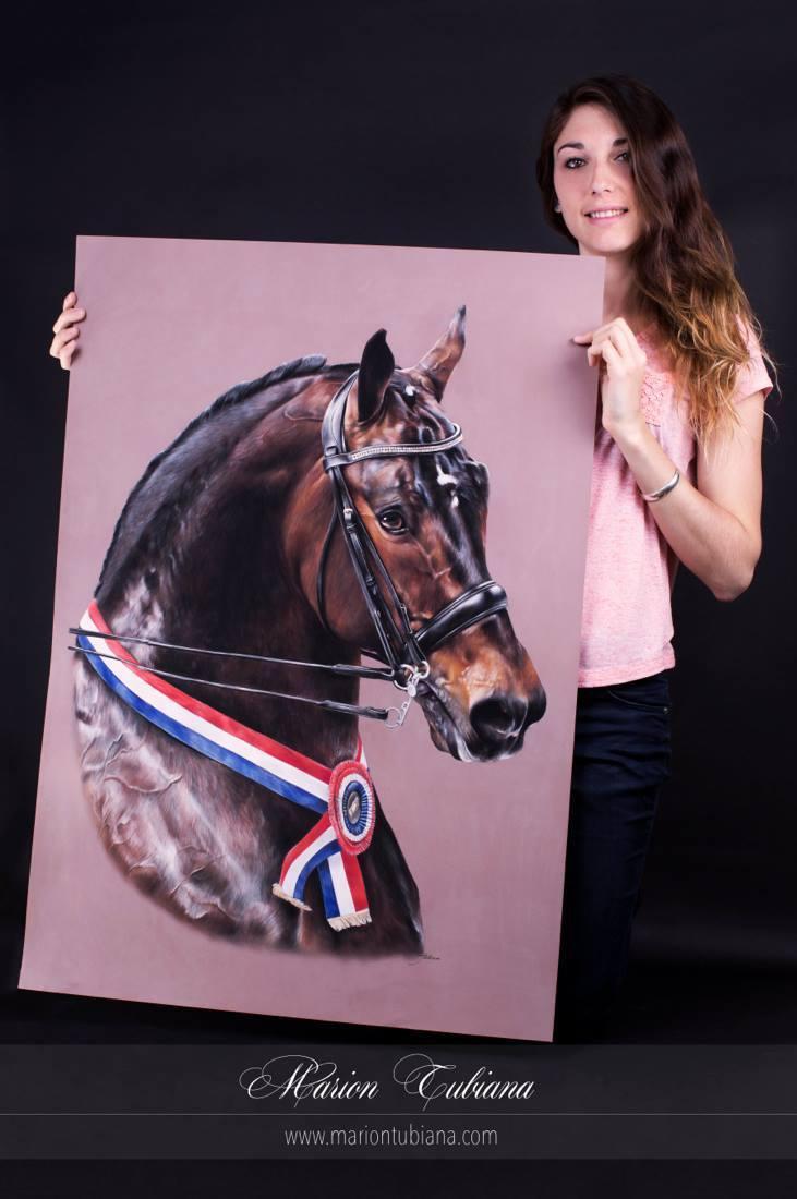 Tubiana Marion – Pastels et photographies – portrait