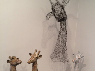 sculptures fil de fer by Pauline Ohrel – expo