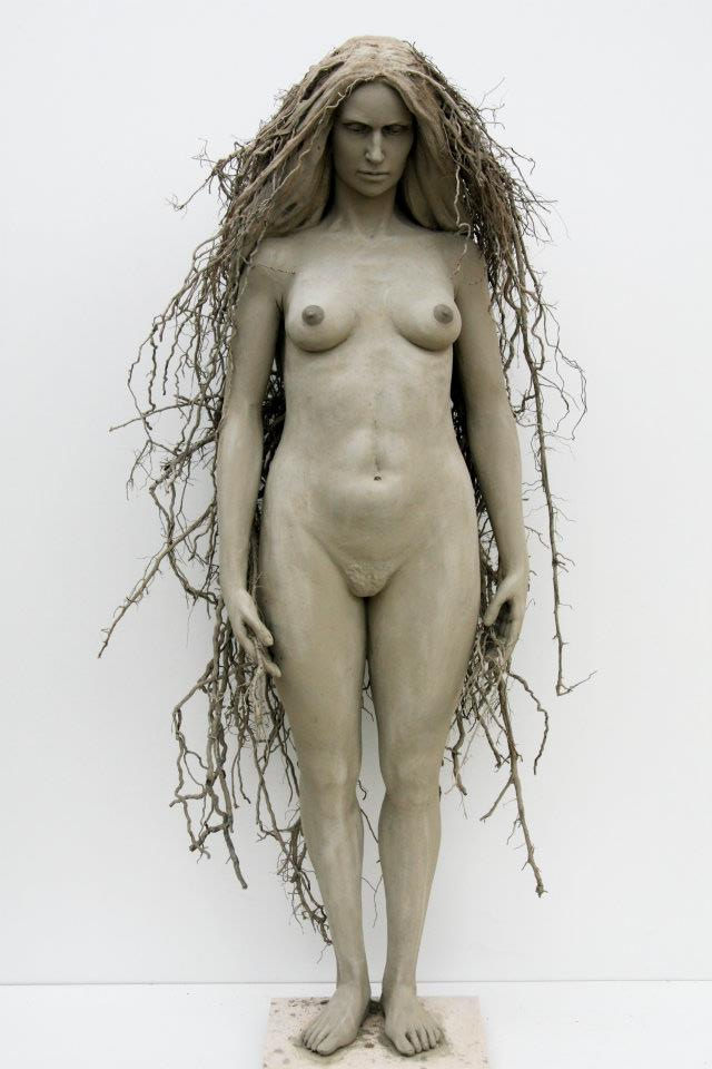 Giuseppe Agnello – sculptures femme arbre