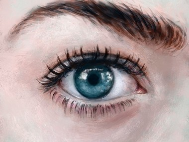 Isabella Morawetz – digital art – eye