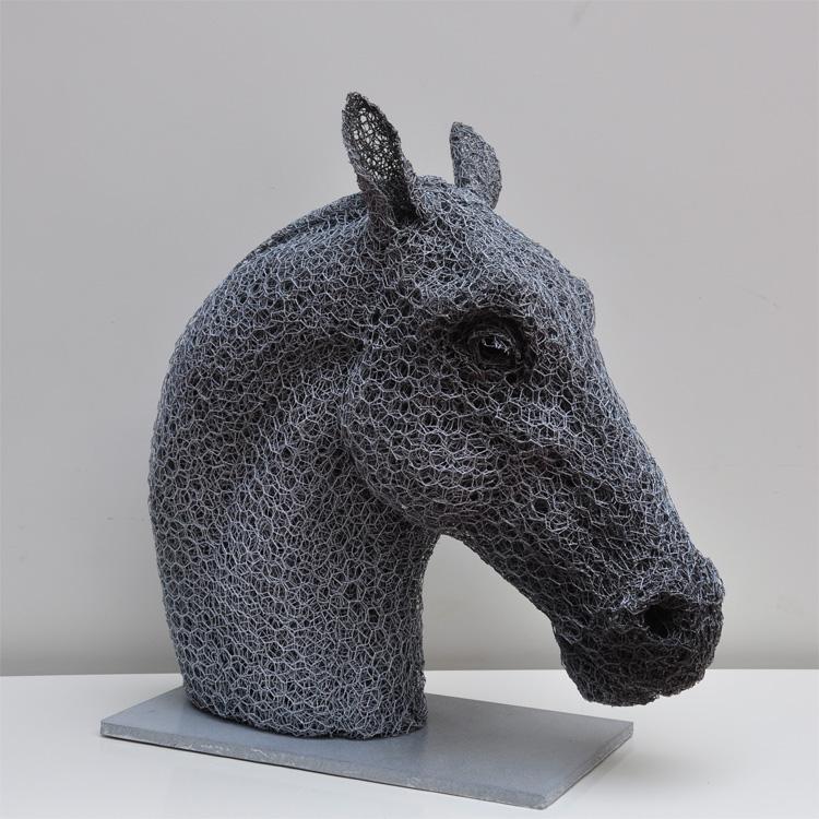 Sculptures en grillage de kendra haste blog graphiste - Sculpture fil de fer ...