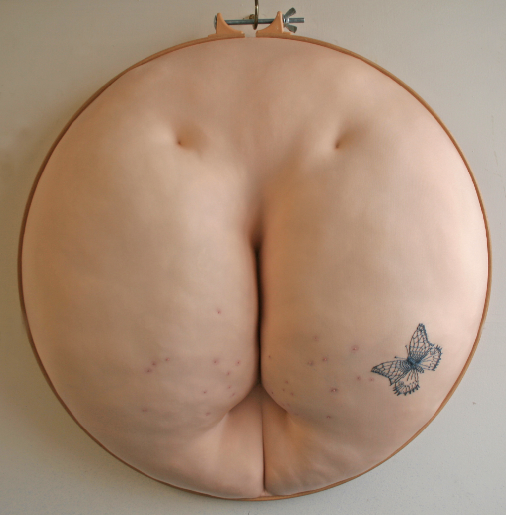 Sally Hewett – textile sculptures – Sisters under the skin1