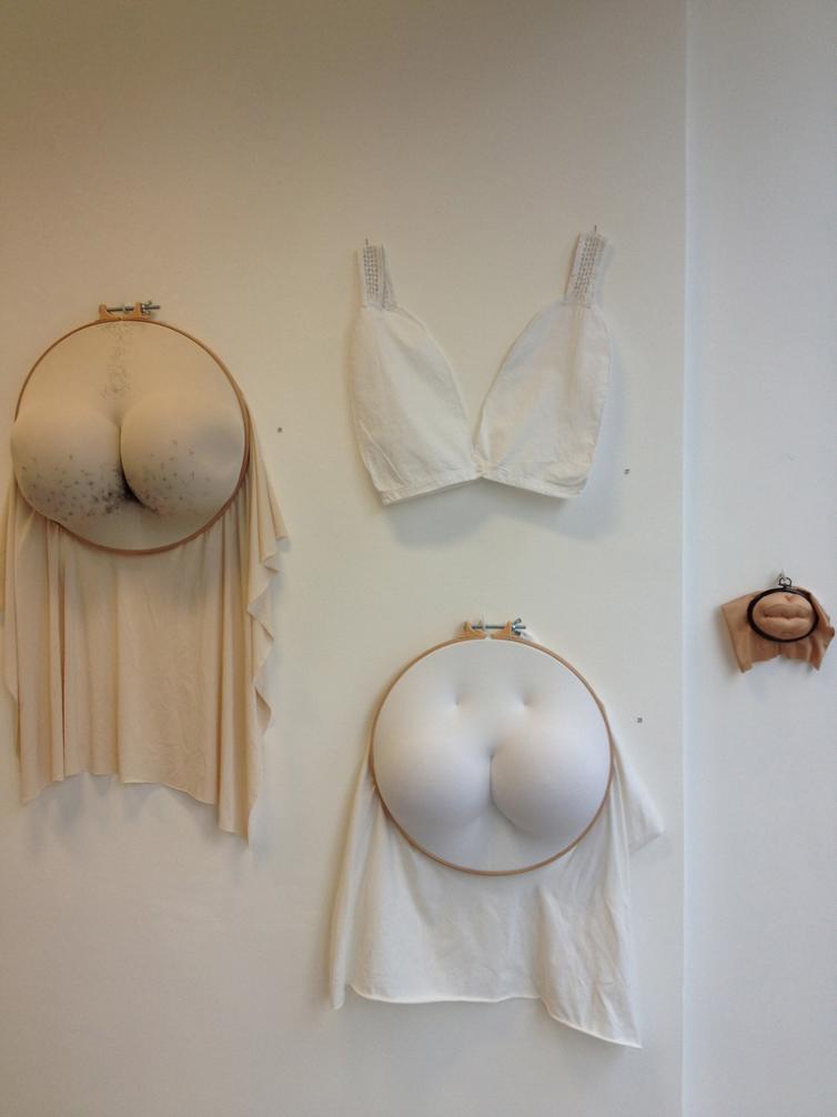 Sally Hewett – textile sculptures
