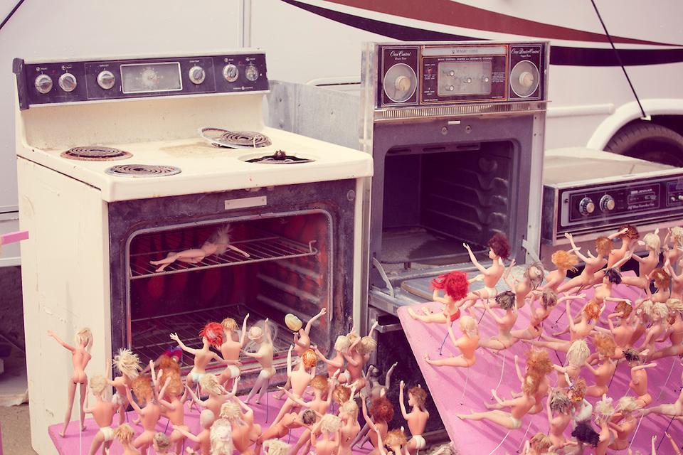 Barbie Death Camp Art ©DUNCAN RAWLINSON