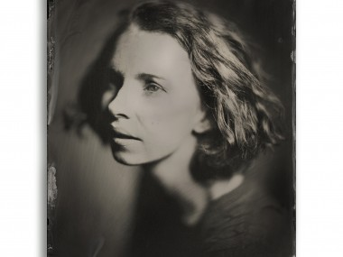 Dave King – Quarter Plate Black Perspex Ambrotype