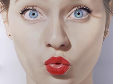 Hubert de Lartigue – Cassandra – Acrylique sur toile -200×200