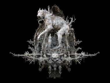 Kris Kuksi –  The Prague parade – sculpture