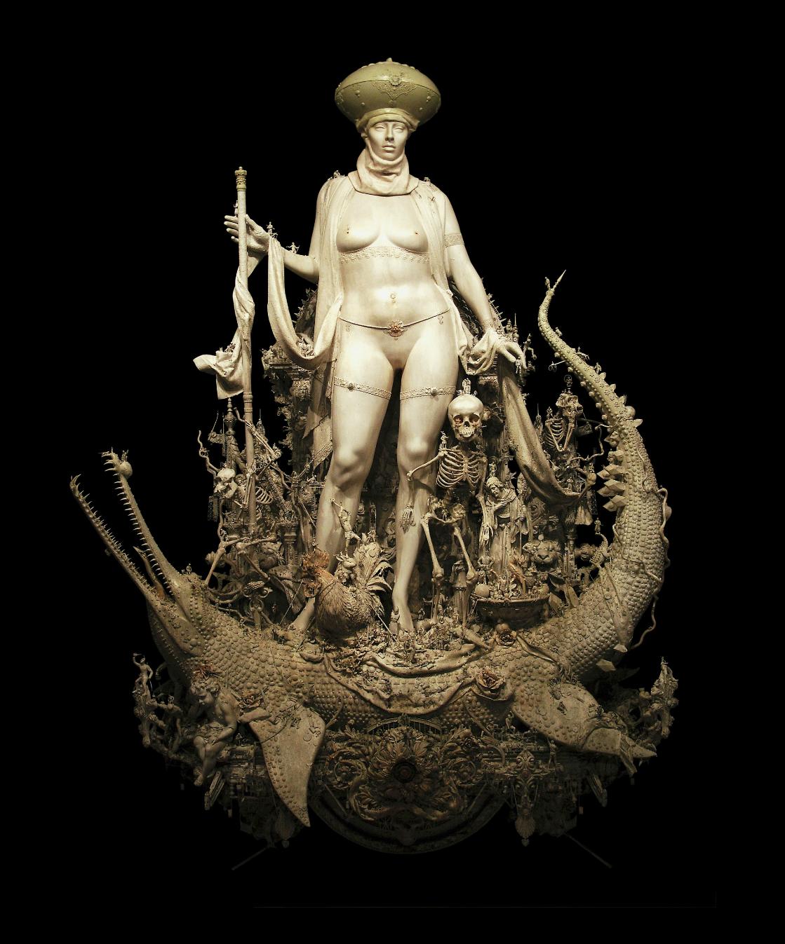 Kris Kuksi –  Triumph – sculpture