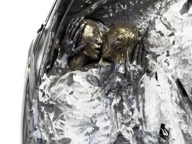 Marie-josee Roy – Le cantique des cantiques, sculpture detail