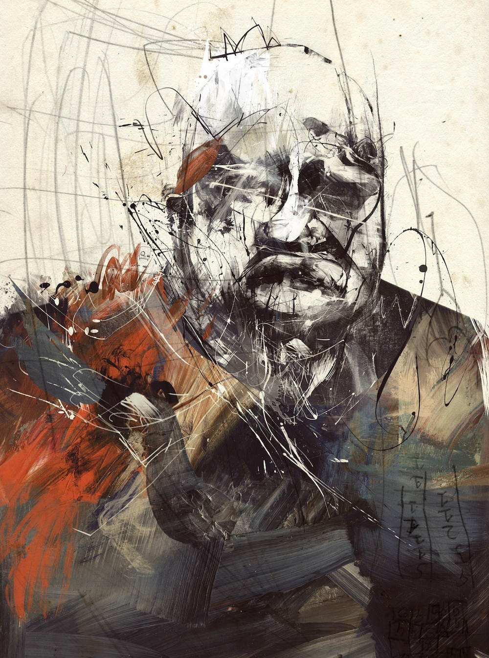 Russ Mills – chubbrock / digitale illustration