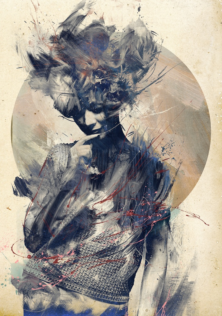 Russ Mills - eurydice / digitale illustration