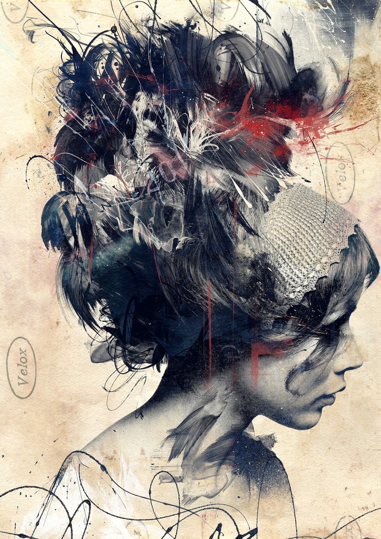 Russ Mills – flat / digitale illustration