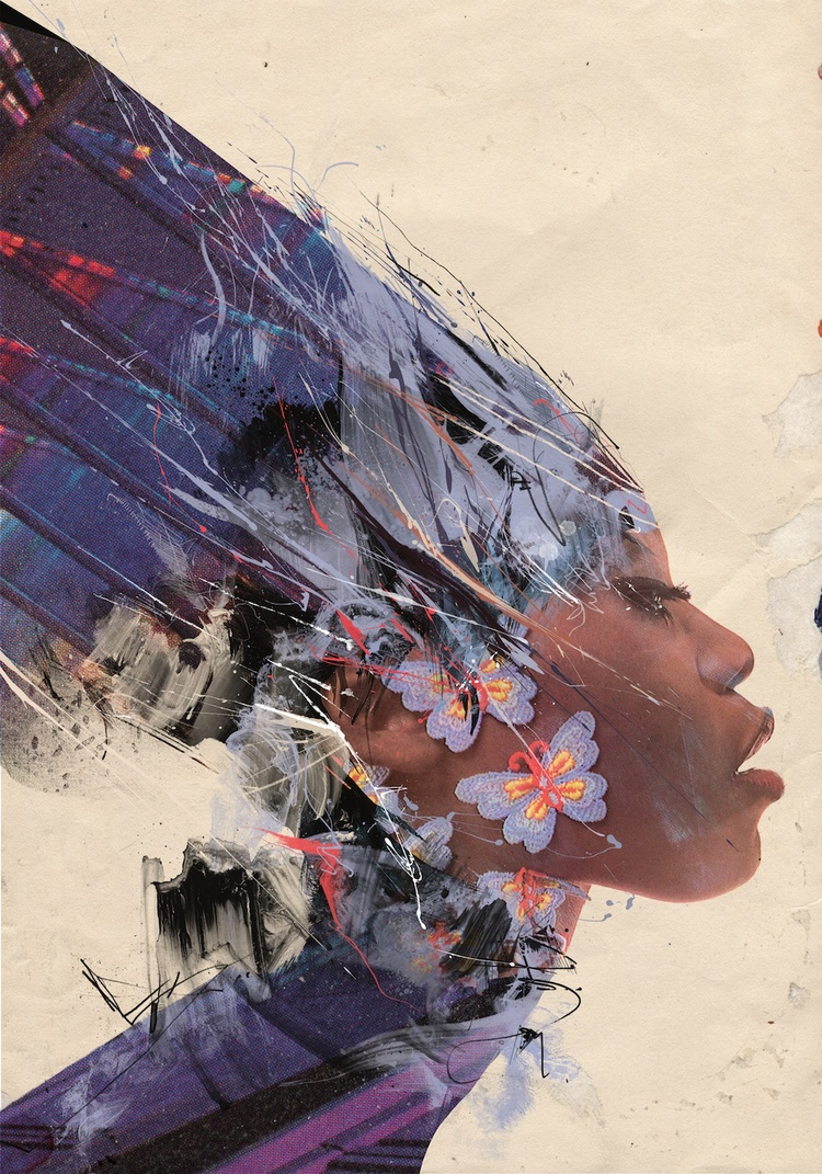 Russ Mills – solar_plexus/ digitale illustration