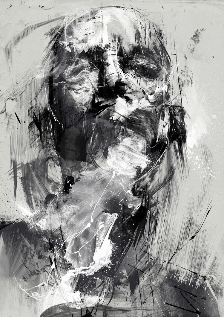 Russ Mills – tardelli / digitale illustration