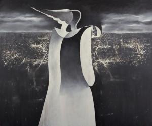 Safwan Dahoul - Syrian painter - Acrylic on canvas