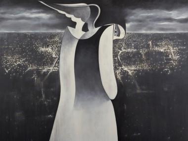 Safwan Dahoul – Syrian painter – Acrylic on canvas