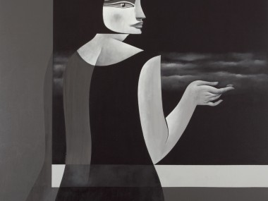 Safwan Dahoul – Syrian painter – Acrylic on canvas2