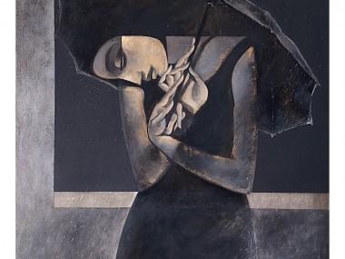 Safwan Dahoul – Syrian painter – Acrylic on canvas4