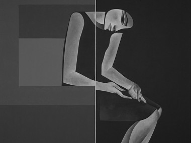 Safwan Dahoul – Syrian painter – Acrylic on canvas5