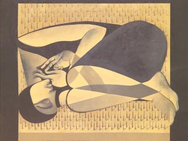 Safwan Dahoul – Syrian painter – Acrylic on canvas6