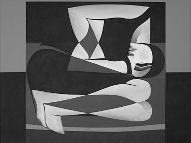 Safwan Dahoul – Syrian painter – Acrylic on canvas7