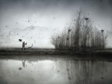 Sherry Akrami – Nest Builder – Digitale manipulation