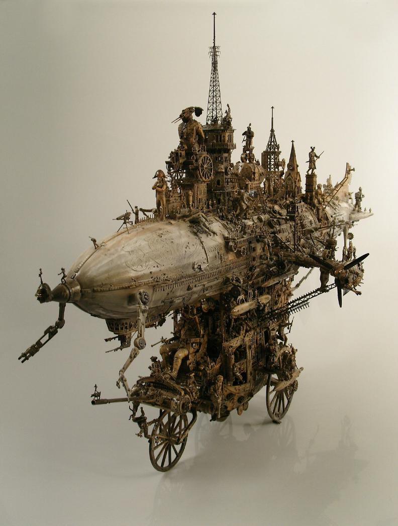 Kris Kuksi – Sculpture