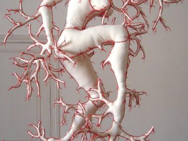 Armelle Blary – Daphné – sculpture textile