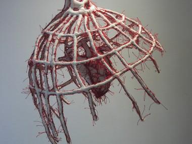 Armelle Blary – Echo -2004 – sculpture textile