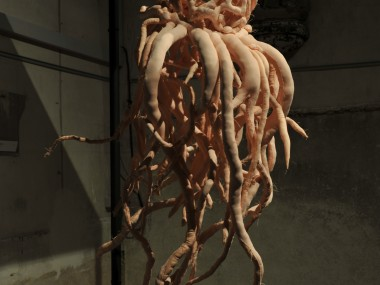 Armelle Blary – jattendrai – Sculpture textile