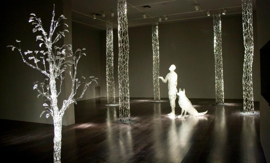 David Willis - Glass sculpture - rainy day dream away
