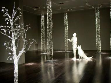 David Willis – Glass sculpture – rainy day dream away