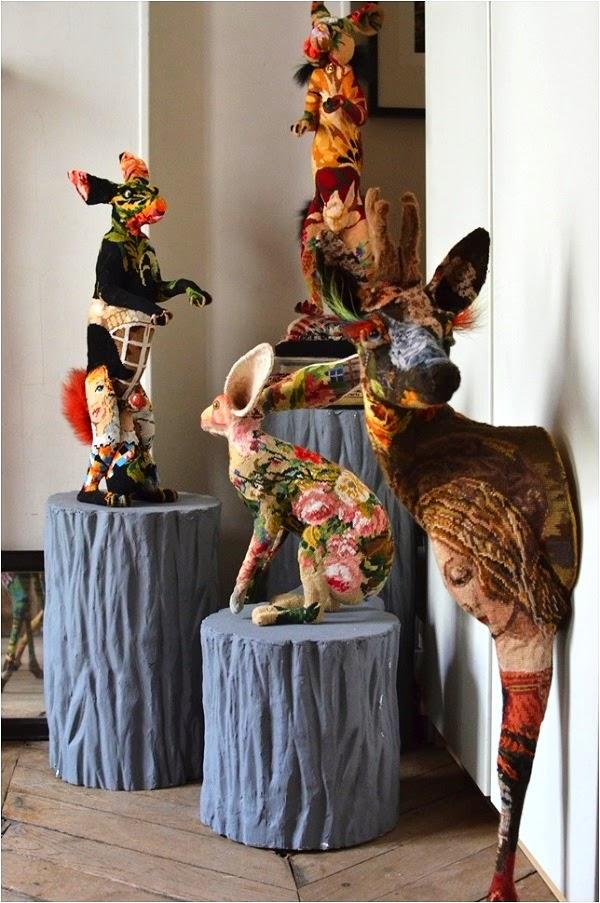 Frédérique Morrel – Beautiful Art Tapestry sculptures