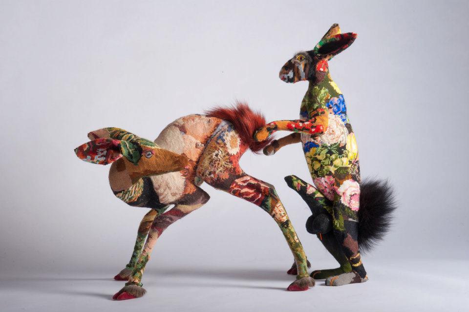 Frédérique Morrel – Sculptures tapissées