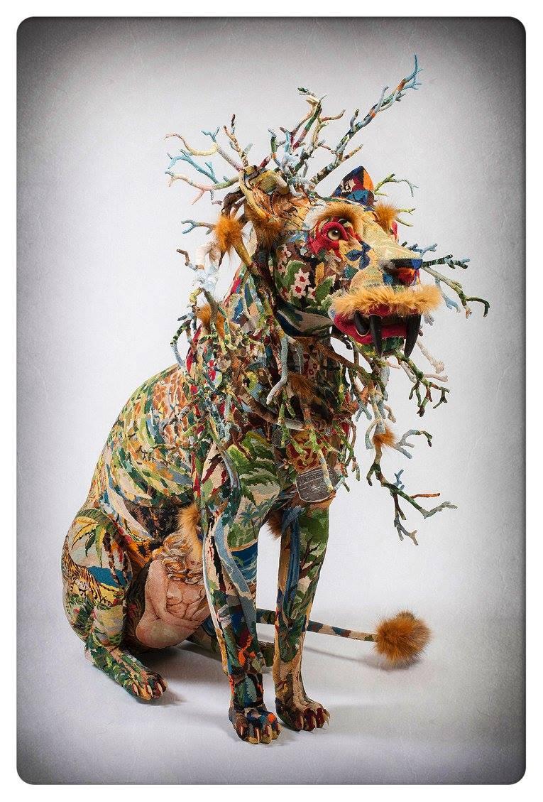 Frédérique Morrel – Tapestry Sculptures