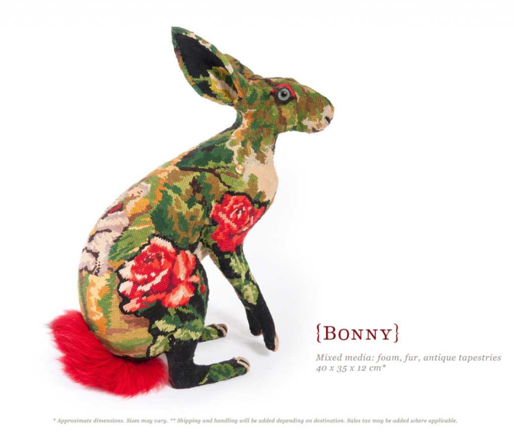 Frédérique Morrel - bonny - mixed media textile sculptures
