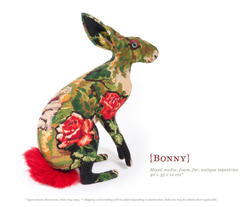 Frédérique Morrel – bonny – mixed media textile sculptures