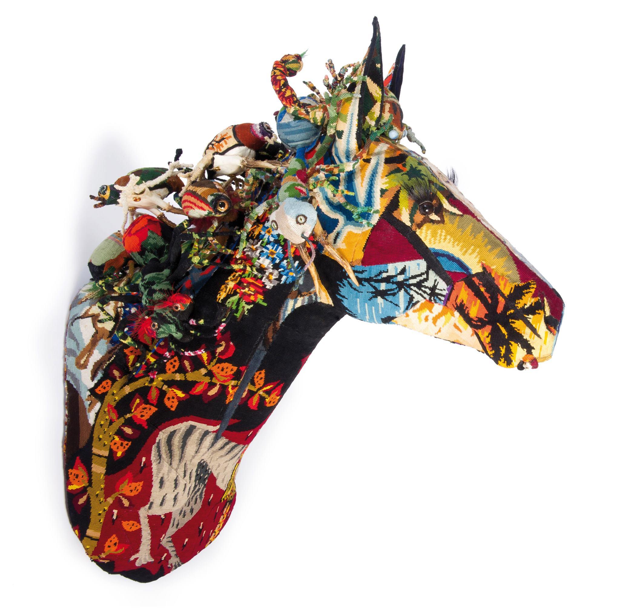 Frédérique Morrel – horse sculptures tapestries