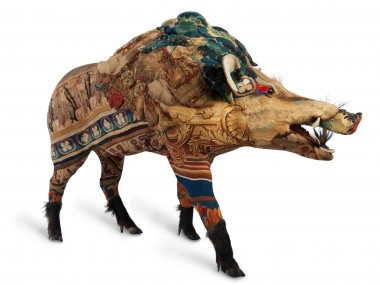 Frédérique Morrel – mixed taxidermy tapestries sculptures