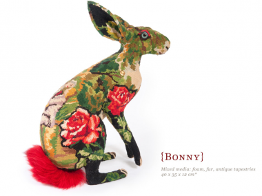 Frédérique Morrel – bonny – mixed media textile sculptures