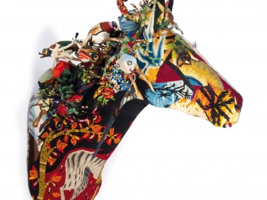 Frédérique Morrel – horse sculptures tapestries
