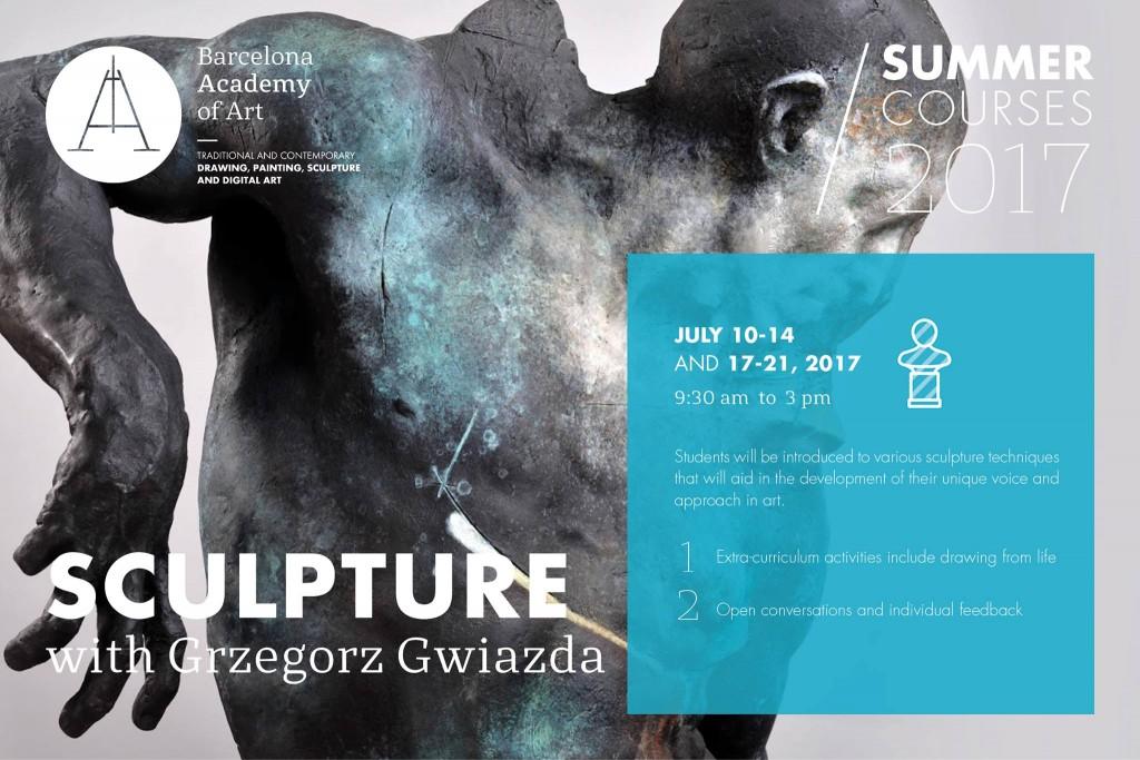 Sculptures Barcelone with Grzegorz Gwiazda
