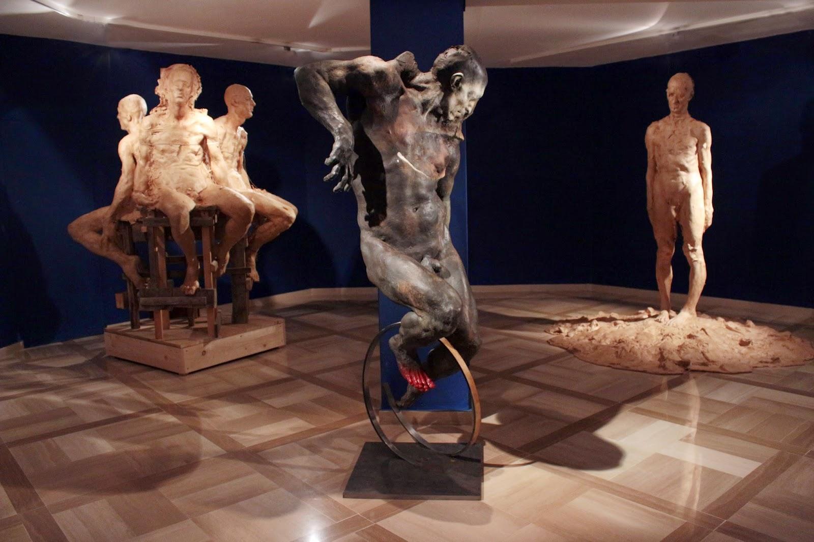 Grzegorz Gwiazda – expo sculpture