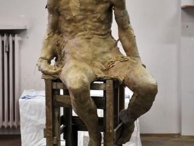 Grzegorz Gwiazda – heretyk sculpture