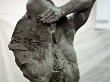 Grzegorz Gwiazda – sculpture in progress