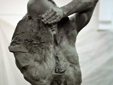 Grzegorz Gwiazda – sculpture in progress
