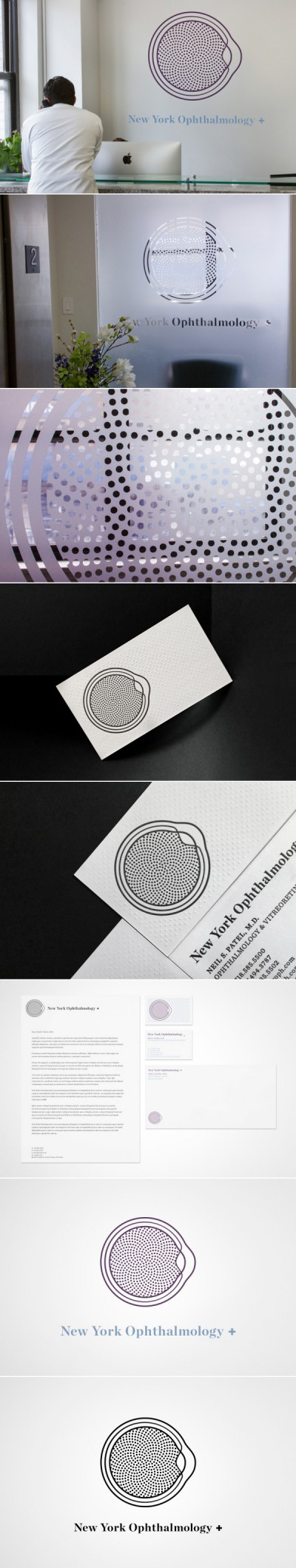Ophtalmology - logo identity creation